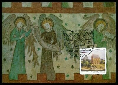 Architektur Maximum Card Mc Cm Bp40 Clear-Cut-Textur Briefmarken Brd Mk 2014 Kloster Lorsch Abbey Maximumkarte Unikat !