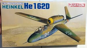 Dragon-Heinkel-He162D-1-48-NEW-FS-Model-Kit-Sullys-Hobbies