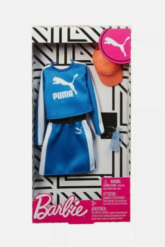 *FREE AND FAST DELIVERY* Wonder Woman Puma branded outfit for BARBIE DOLL New