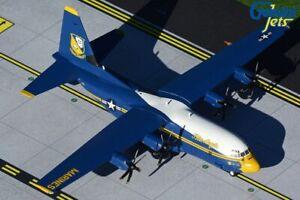"GEMINI200 (G2USM921) USMC C-130J ""FAT ALBERT BLUE ANGELS"" 1:200 SCALE MODEL"