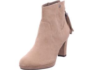 Details zu Tamaris Damen Damen Stiefelette Stiefel Stiefelette Boots elegant grau