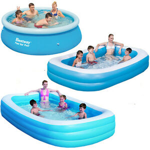 BESTWAY-LARGE-PADDLING-GARDEN-POOL-KIDS-FUN-FAMILY-SWIMMING-OUTDOOR-INFLATABLE