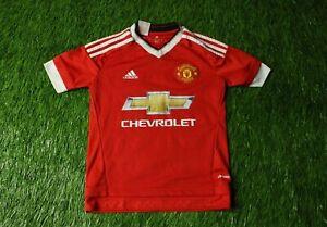 La foto se está cargando Manchester-United-2015-2016-Camiseta-De-Futbol- Jersey- 7382cb30a