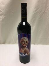 2004 Marilyn Monroe Merlot Napa Valley Red Wine Full Bottle