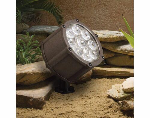 Kichler Lighting 12.4W LED Accent Light Low Voltage Texture Architectural Bronze