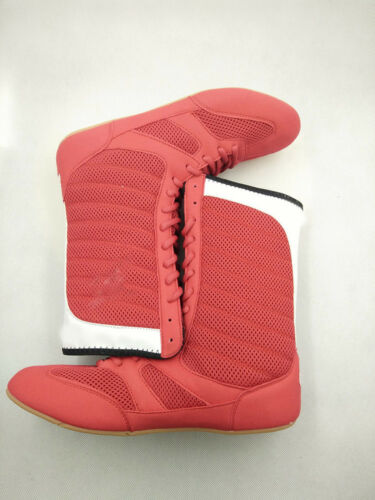 Mens High top Wrestling Shoes Boxing Boots MMA Fitness trainer Gym Athletic 11 9