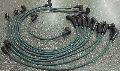 Triumph STAG ** HT / PLUG LEAD SET ** Green as orig GHT153