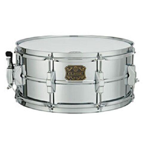 Dixon Classic Metal Snare Drum 6.5  x 14