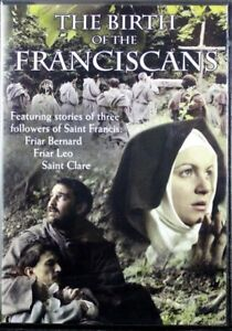 The-Birth-of-the-Franciscans-Friar-Bernard-Friar-Leo-Saint-Clare-NEW-DVD