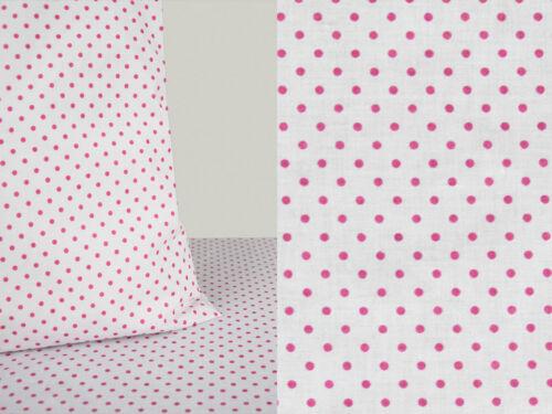 50 cm tissu coton petites Dekostoff Pois gupunktet en pointillé 5,90 €//M