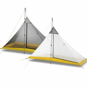 Breathable Pyramid Tent For Camping Outdoor Sleeping ...