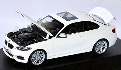 Cars Audacious Bmw 2er Coupe F22 Alpine White White 1:43 Minichamps High Quality And Low Overhead Toys, Hobbies
