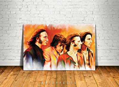 Jeff Buckley Canvas High Quality Giclee Print Wall Decor Art Poster Artwork