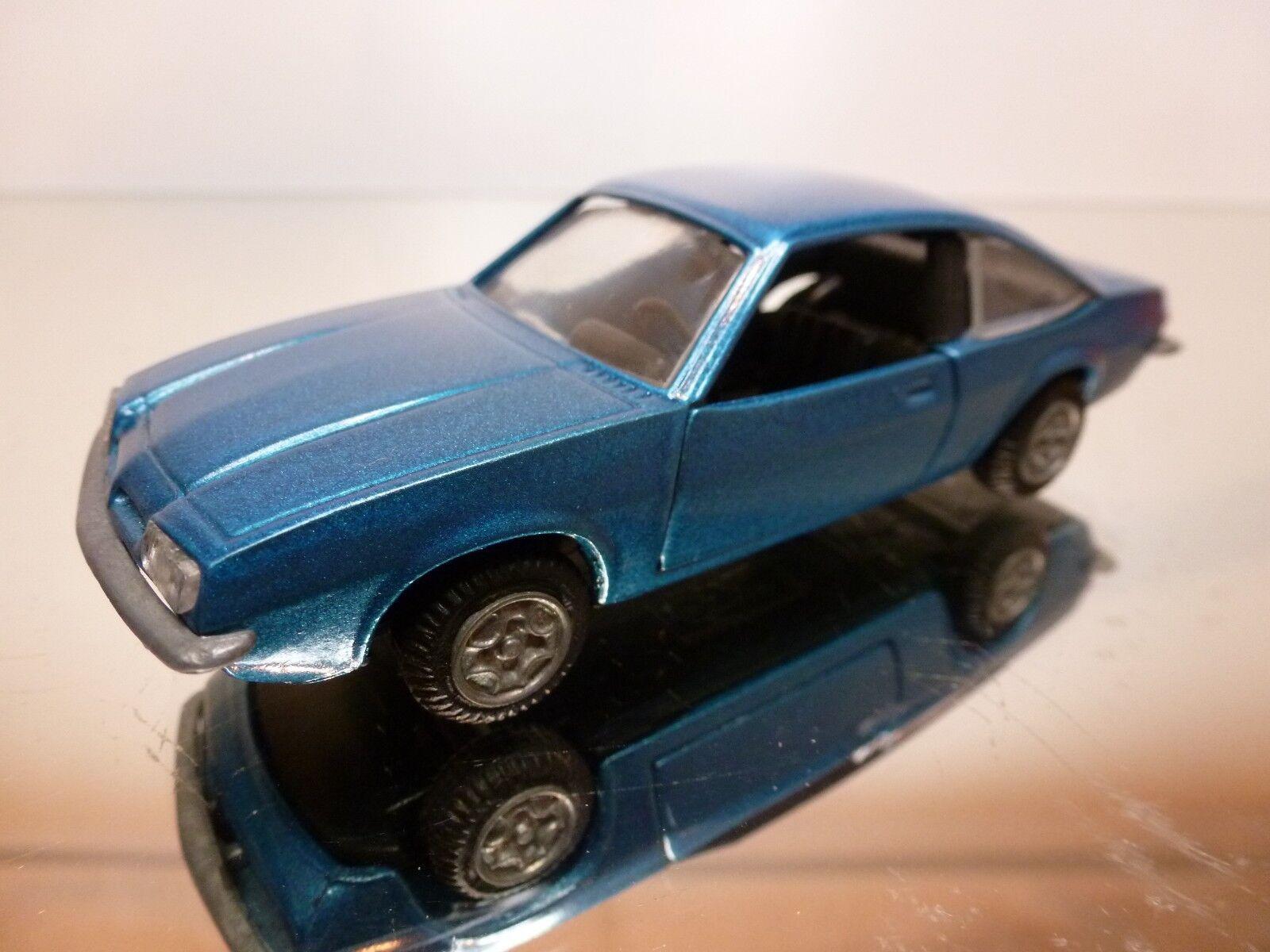 DEALER GM OPEL MANTA - blueE METALLIC 1 43 - GOOD CONDITION