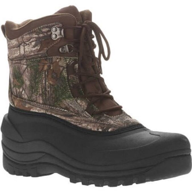Ozark Trail Men's Winter Camouflage Pac Boots Size 7