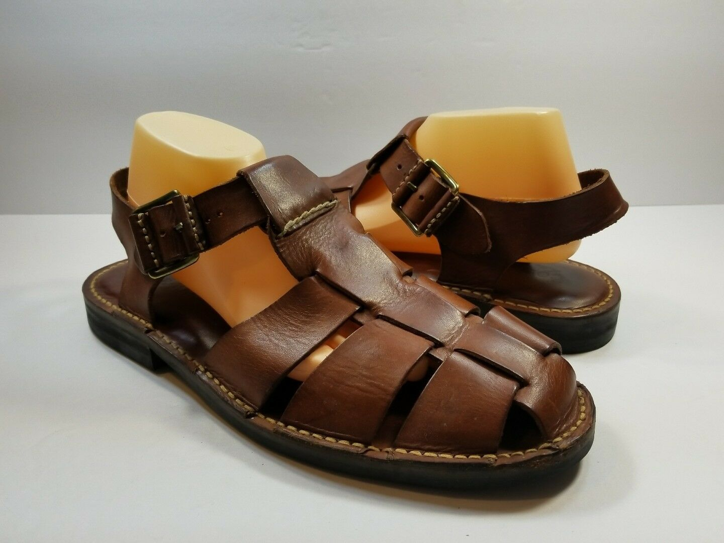 Cole Haan - Uomo Fisherman Sandals Brown Pelle - Haan - Size 12D a2496f