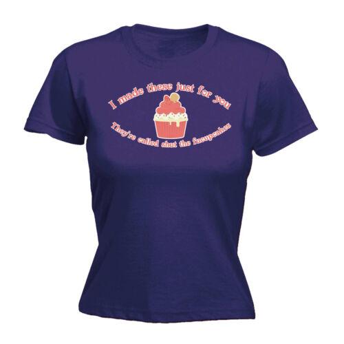 Womens Funny T Shirt Shut The Fucupcakes Birthday tee Gift tshirt T-SHIRT