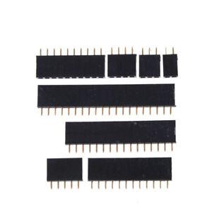 20x-2-54mm-Single-Row-Female-Pitch-Header-Socket-Connector-PCB-2-20-Pin-Strip-YJ