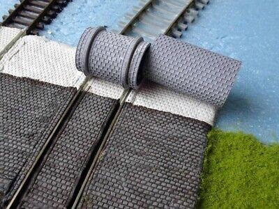 Appena Railnscale H9531 Strade Pavimentazione-laminazione Set Strada & Tram 16,5mm 2x-alzen Set Straße & Straßenbahn 16,5mm 2x It-it Mostra Il Titolo Originale