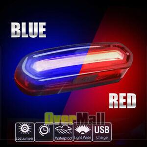 Wasserdicht-Fahrrad-LED-Lampe-Licht-hinten-Blinklicht-Radfahren-Fahrrad-Schwanz-Sicherheit-Warnung
