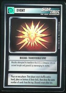 Star-Trek-CCG-Masaka-Transformations-1E-Tournament-Foil