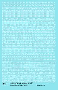 K4-HO-Decals-White-3-32-Inch-Railroad-Roman-Letter-Number-Alphabet-Set
