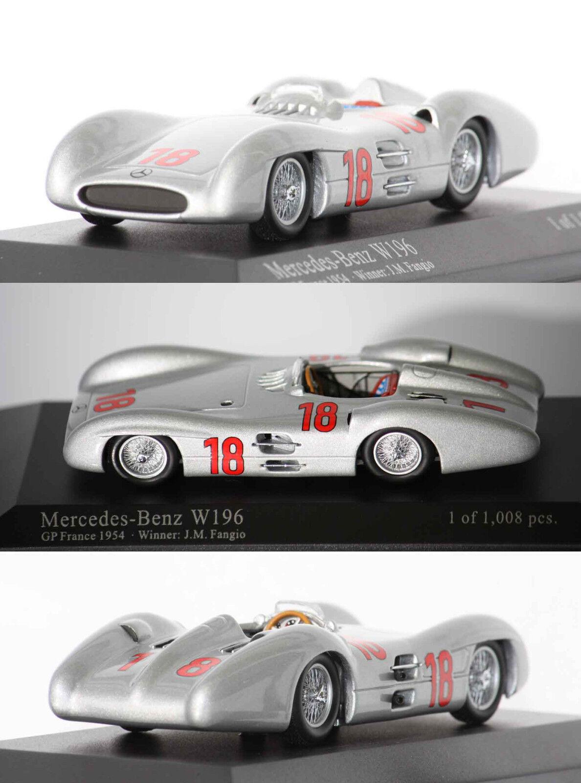 Minichamps F1 Mercedes Benz W196 Wc 1954 J.M Fangio 1 43 432543018
