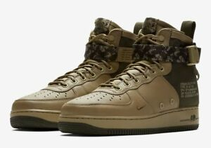cfb69589c70 NEW Nike SF AF1 MID Air Force 1 Men s Shoes CAMO Olive Green Khaki ...