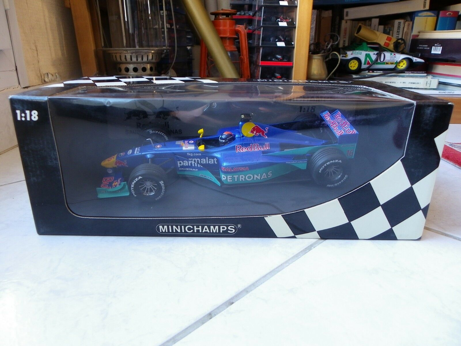 venta directa de fábrica Sauber Petronas C19 rojo Bull Bull Bull Pedro Diniz  16 1 18 Minichamps 1999 Fórmula 1 F1  más vendido