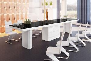 Designertisch Esstisch Modern Lugo140 Mega Esszimmertisch Holz