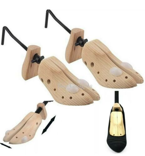 2 x LADIES WOMENS SHOE INNER SUPPORT HARD STRETCHERS WOODEN SHAPER SIZE 3 4 5 6