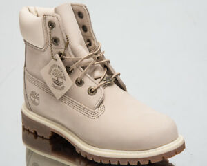 Details about Timberland Women's 6 Inch Premium Waterproof Boots Lifestyle Shoes White 23623