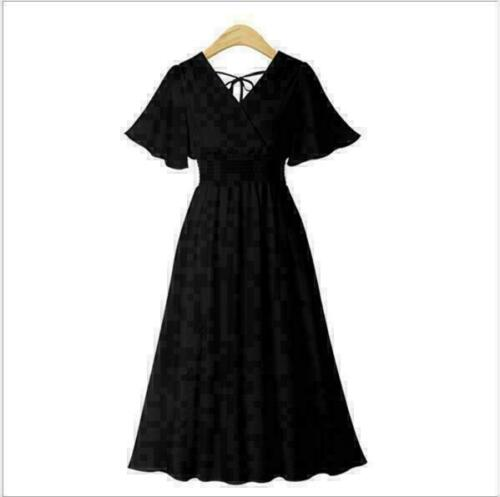Sundress Casual Women/'s Party Evening Summer Boho Beach Short Dress Chiffon