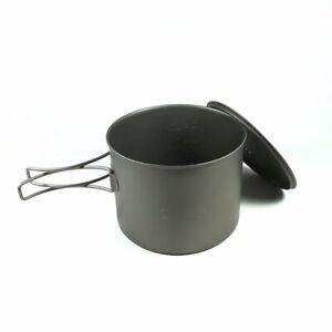 TOAKS-Titanium-1300ml-Pot-Cookware-Outdoor-Camping-Hiking-Cooking-Survival-Food