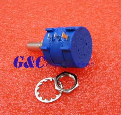 3590S-2-103L 10K Ohm Rotary Wirewound Precision Potentiometer Pot 10 Turn
