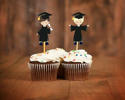 Graduation cupcake toppers decorations class of 2019 | eBay