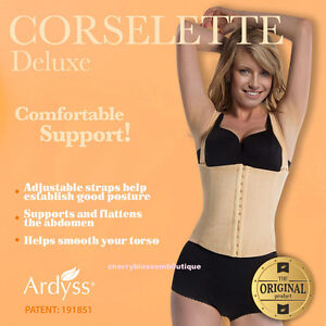 8b958ac6cd ARDYSS CORSELETTE DELUXE WOMEN SHAPER WEAR MFG BODY MAGIC 26 28 30 ...