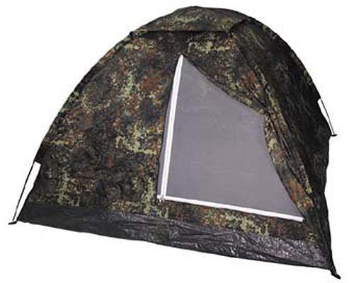 Mfh Zelt Militär von Camping Exkursionen Zelt Monodom 32103V Flecktarn