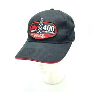 f2ac7754406 COKE ZERO 400 Daytona NASCAR Hat Adjustable July 7 2012 Embroider By ...
