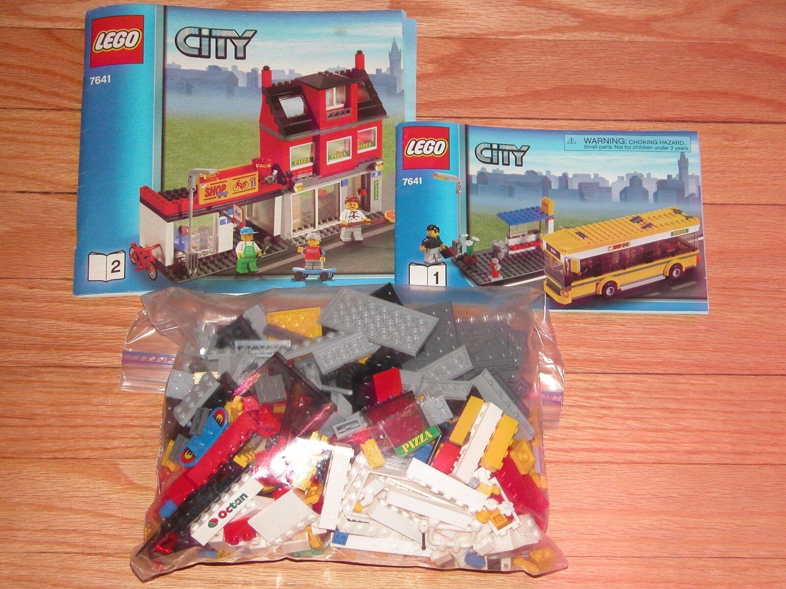 Lego 7641 stadt ecke komplett