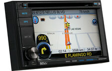 "BOSS BV9370NV DOUBLE 2 DIN DVD CD PLAYER 6.2"" MONITOR GPS NAVIGATION BLUETOOTH"