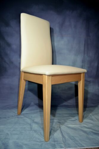 Solid beechwood dining chairs