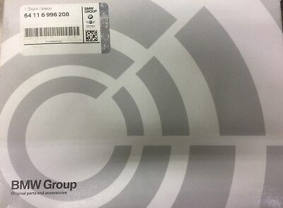 New Genuine OEM BMW Filter Element 64-11-6-996-208