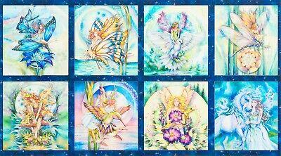 "1m Angels scuba fabric religious cherubs fairies black white grey colour58/"" new"