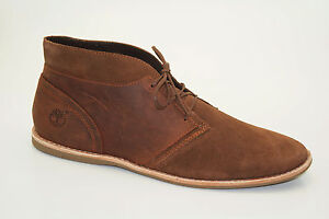 TIMBERLAND-revenia-desert-Chukka-Bottes-Chaussures-a-lacets-hommes-9629b