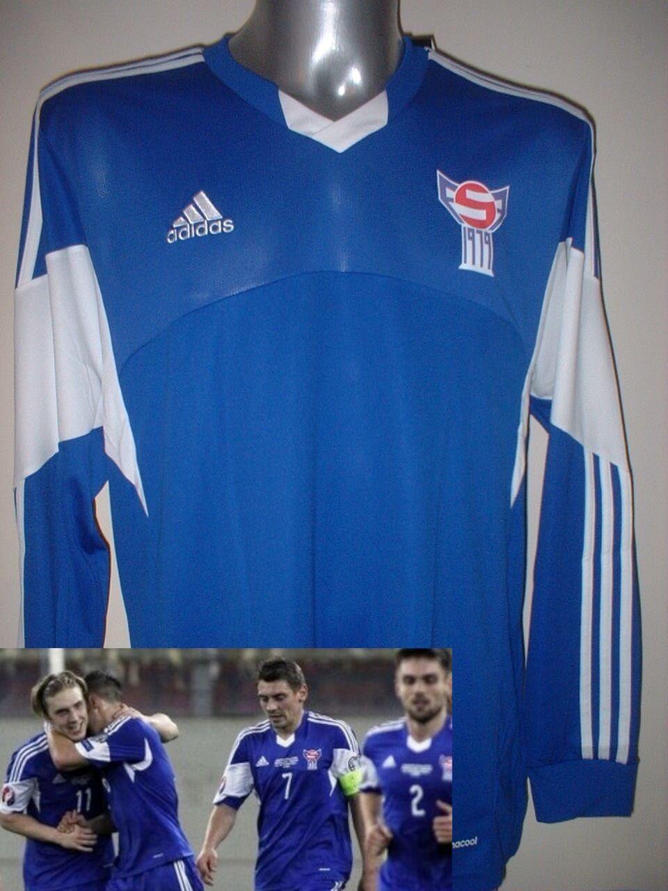 Faroe Islands Adult XL XXL BNWT New Shirt Jersey Football Soccer Trikot Maglia