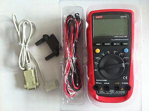 UNI-T unità UT-61E UT61E Digital Mutimeter Portatile Tester DMM AC DC VOLT OHM Frq