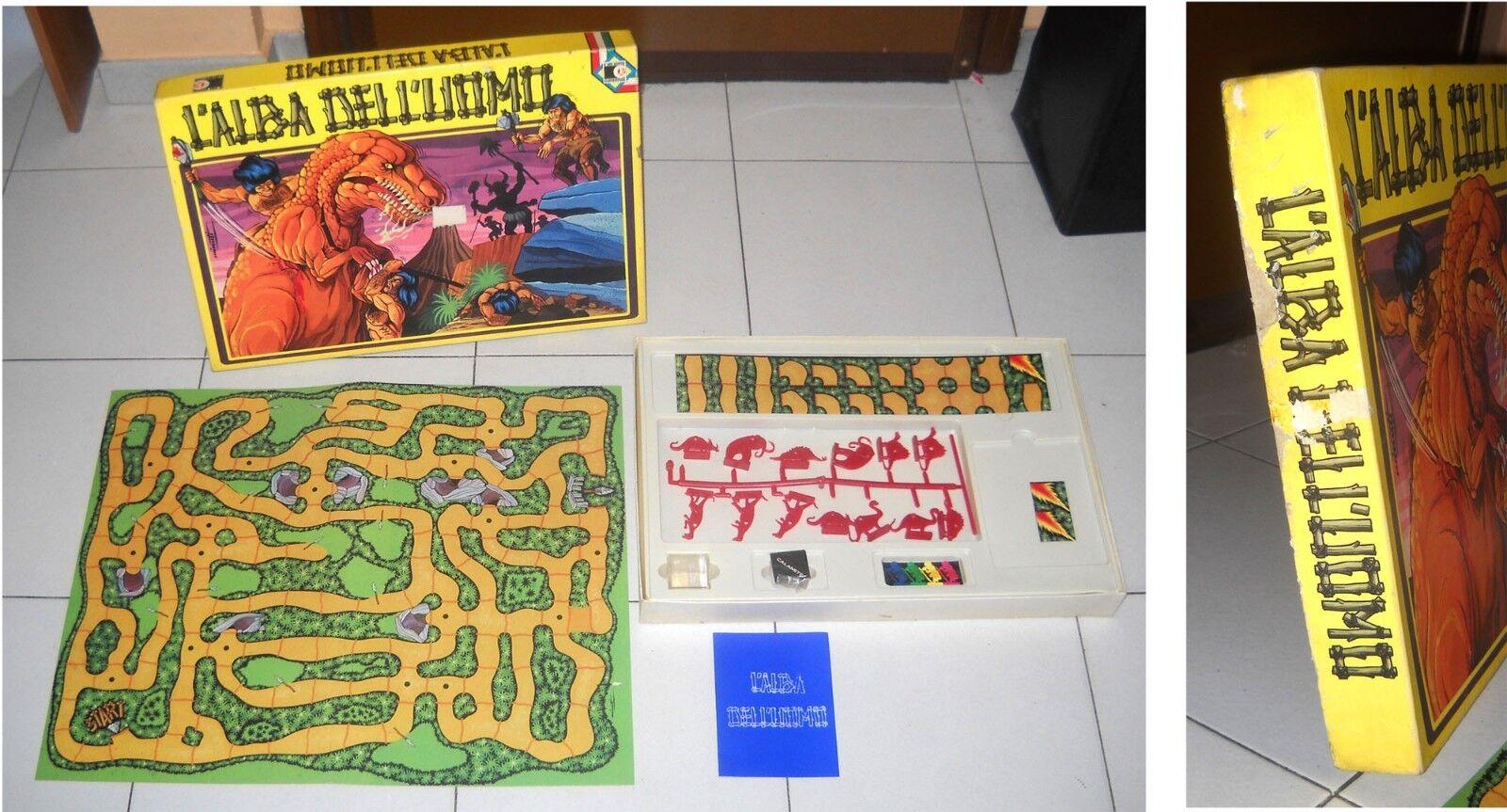 L'ALBA L'ALBA L'ALBA De L''MÂLE -Clementoni Jeux 1973 NEUF Minutes Préhistoire c4c532