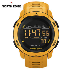 NORTH EDGE Digital Watch Multifunctional Sports Dual Time Watch