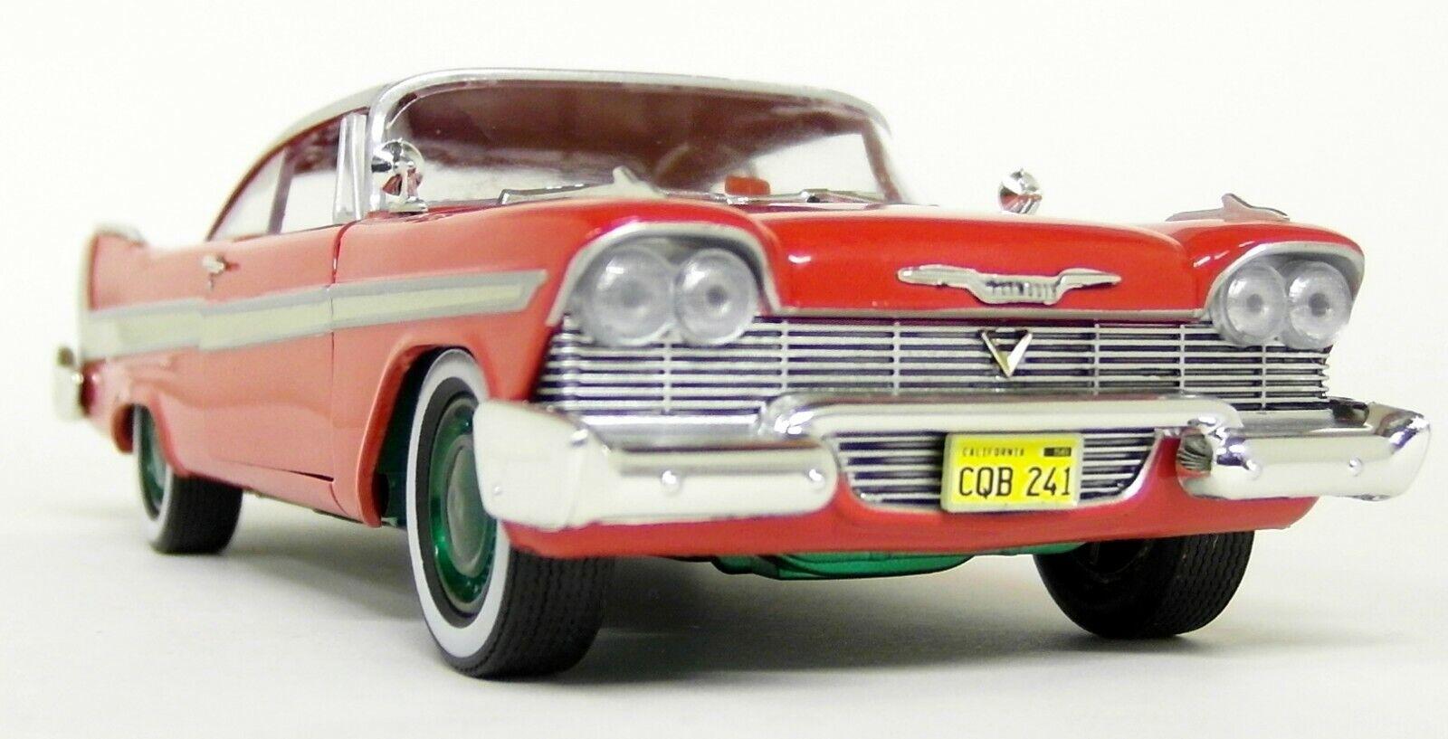 Precio por piso verdelight escala 1 24 1958 Plymouth Fury Christine película película película verde rueda Chase coche  bajo precio